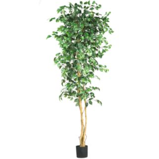 nearly natural 7-ft. Silk Ficus Tree