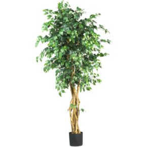 nearly natural Silk Palace Ficus Tree