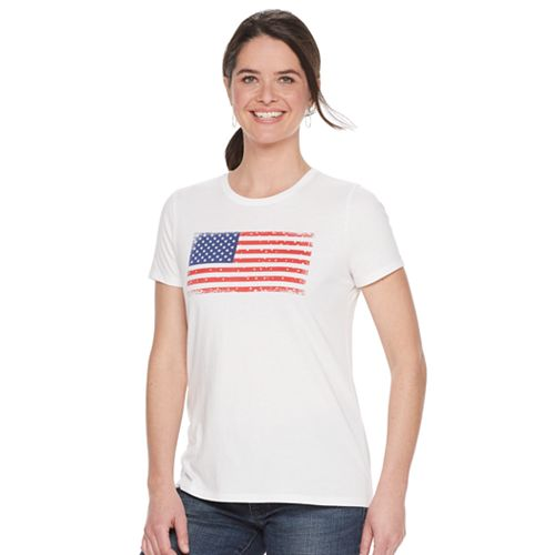 Women's SONOMA Goods for Life® Crewneck Patriotic Graphic Tee