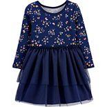 Toddler Girl Carter's Tutu Jersey Dress