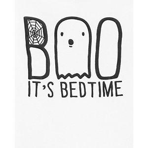 Baby Carter's 2-Piece Boo Halloween Cotton Pajama Set