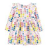 Baby Girl Carter's Heart Jersey Dress