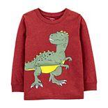 Toddler Boy Carter's Dinosaur Peek-A-Boo Tee