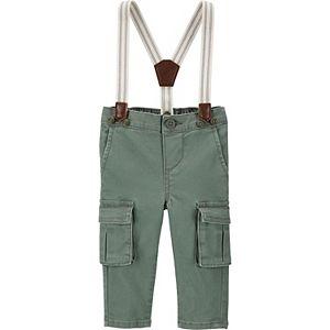 Toddler Boy OshKosh B'gosh® Stretch Cargo Suspender Pants