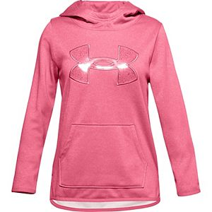 Girls 7-16 Under Armour Big Logo Fleece Hoodie