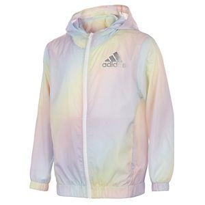 Girls 7-16 adidas Iridescent Windbreaker Jacket