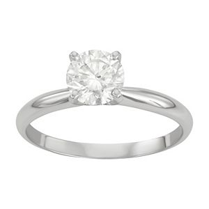 14k Gold 1 Carat T.W. IGI Certified Lab-Grown Diamond Solitaire Engagement Ring