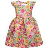 Girls 4-6x Bonnie Jean Floral Print Dress