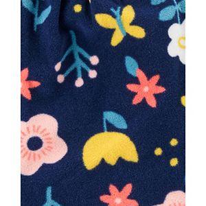 Baby Girl Carter's 3-Piece Floral Little Vest, Bodysuit & Pants Set