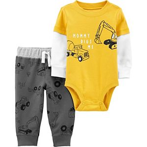 Baby Boy Carter's 2-Piece Construction Bodysuit Pants Set