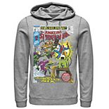 Men's Marvel Spider-Man Sinister Six Comic Hoodie