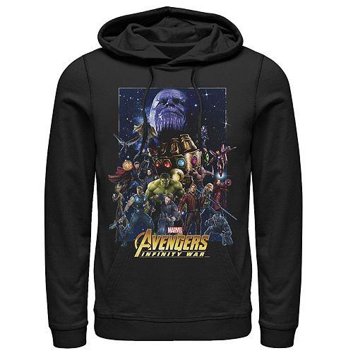 Men's Marvel Avengers Infinity War Team Assemble Graphic Hoodie