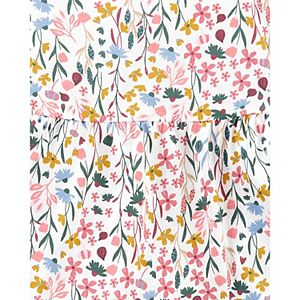 Baby Girl Carter's Floral Top & Jeggings Set