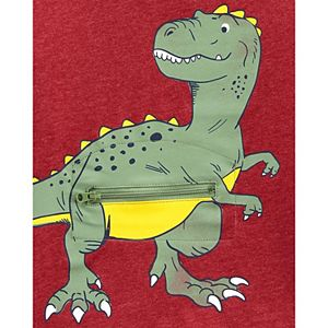 Baby Boy Carter's Dinosaur Peek-A-Boo Tee