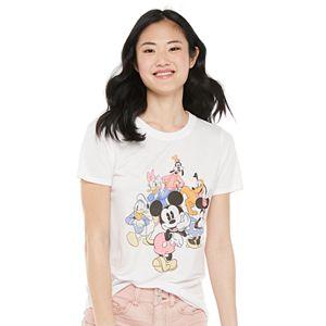 Juniors' Disney Mickey & Friends Graphic Tee