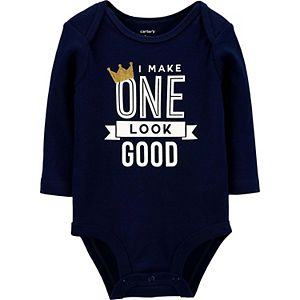 Baby Boy Carter's I Make One Look Good Collectible Bodysuit