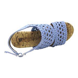 SO® Adriene Girls' Wedge Sandals