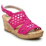 SO® Adriene Girls' Wedge Sandals
