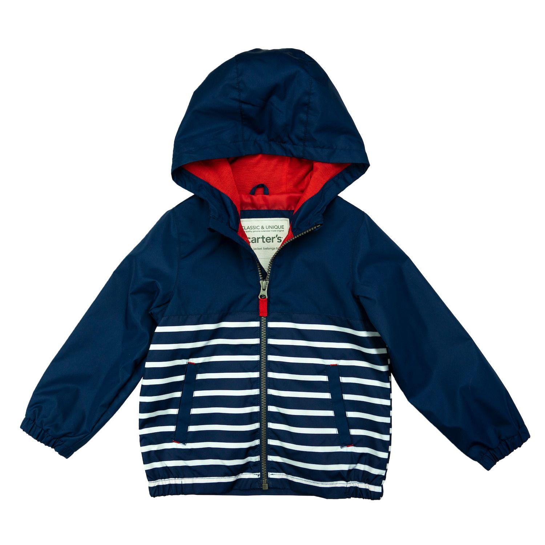 Carter/'s Boys Green Dinosaur Rainslicker Jacket Size 2T 3T 4T 4 5//6 7