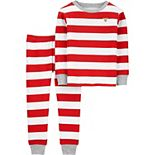 Baby Carter's 2-Piece Christmas Thermal Pajamas