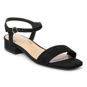 LC Lauren Conrad Women's Block Heel Sandals