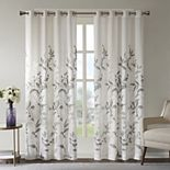 Madison Park Vera Burnout Printed Window Panel