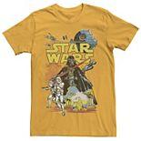 Men's Star Wars Rebel Classic Poster Graphic Tee