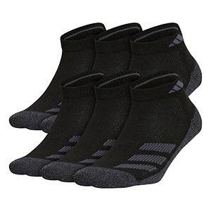 Boy's adidas Cushioned Angle Stripe 6-Pack Low Cut Socks