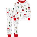 Toddler Carter's 2-Piece Christmas Pajamas