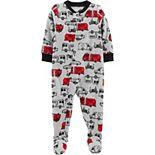 Baby Boy Carter's 1-Piece Truck Pajamas