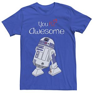 Men's Star Wars R2-D2 Your'e Awesome Graphic Tee