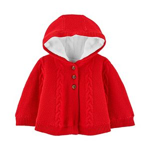 Baby Girl Carter's Hooded Poncho