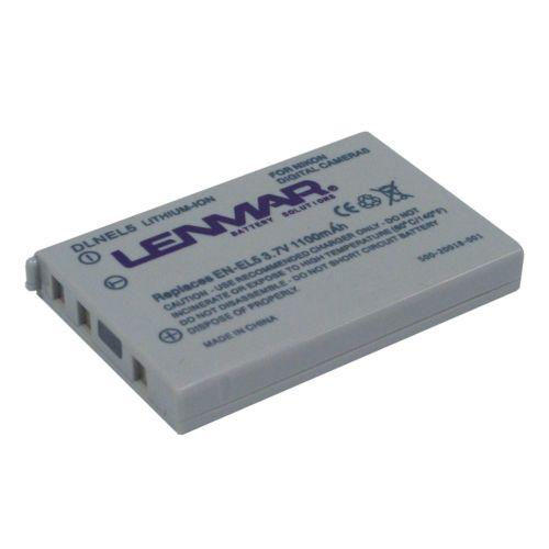 Lenmar Nikon Digital Camera DLNEL5 Lithium-Ion Replacement Battery