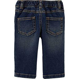 Baby Boy Carter's 2-Piece Striped Sweater & Jeans Set