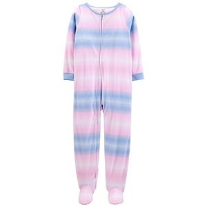 Girls 4-14 Carter's 1-Piece Fleece Footie Pajamas