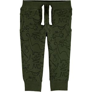 Baby Boy Carter's Dinosaur Pull-On Fleece Pants