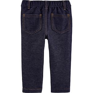 Baby Carter's Pull-On Knit Denim Pants