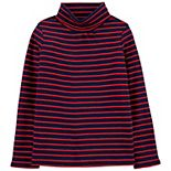 Girls 4-14 OshKosh B'gosh® Sparkle Striped Turtleneck