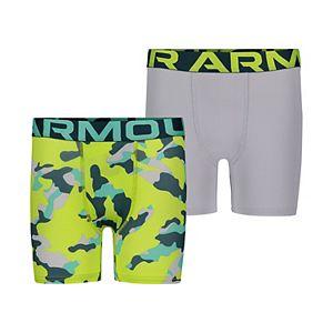 Boys 8-20 Under Armour 2-Pack Fury Camo Boxer Briefs