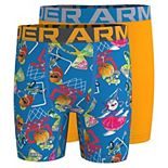 Boys 4-20 Under Armour 2-Pack Shredding Shorts Boxer Set