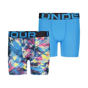 Boys 8-20 Under Armour 2-Pack Tie Dye Boxer Briefs