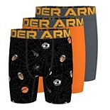 Boys 8-20 Under Armour 3-Pack Sports Web Boxer Briefs