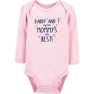 Baby Carter's Mommy And Daddy Are The Best Bodysuit