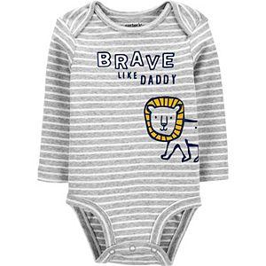 Baby Carter's Brave Like Daddy Original Bodysuit