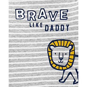Baby Carter's Brave Like Daddy Original Bodysuit