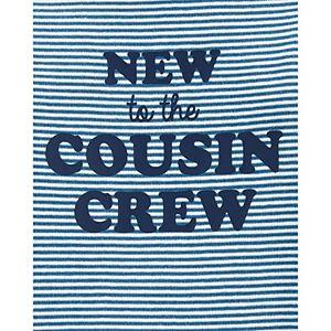 Baby Carter's New To The Cousin Crew Original Bodysuit