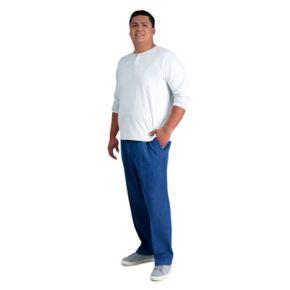 Big & Tall Haggar® Work to Weekend® Flat-Front Denim Pants