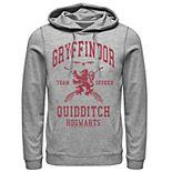 Men's Harry Potter Deathly Hallows 2 Gryffindor Quidditch Pullover Hoodie