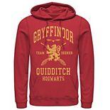 Men's Harry Potter Gryffindor Quidditch Team Seeker Hoodie
