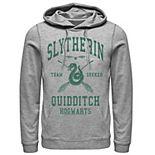 Men's Harry Potter Slytherin Team Seeker Text Hoodie